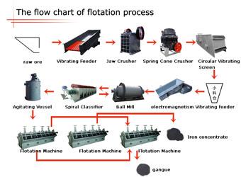 Floatation Processing Plant Benefication Plant Henan Daiwo